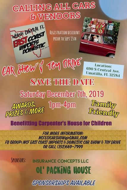 Car Show December 7, 2019